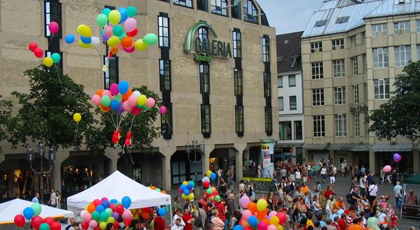 13. Schwul-lesbisches Sommerfest in Bonn - AIDS INITIATIVE