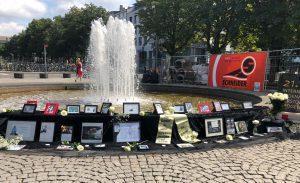 Aktionen am Internationalen Gedenktag für verstorbene Drogengebraucher*innen